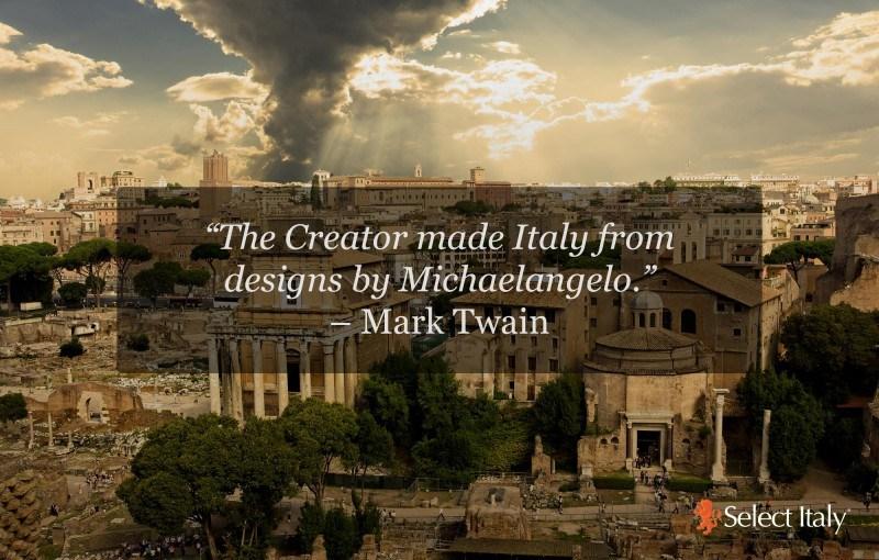 TWAIN IN ITALY