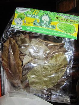 Hoja de guanabana para te $50.00 PESITOS