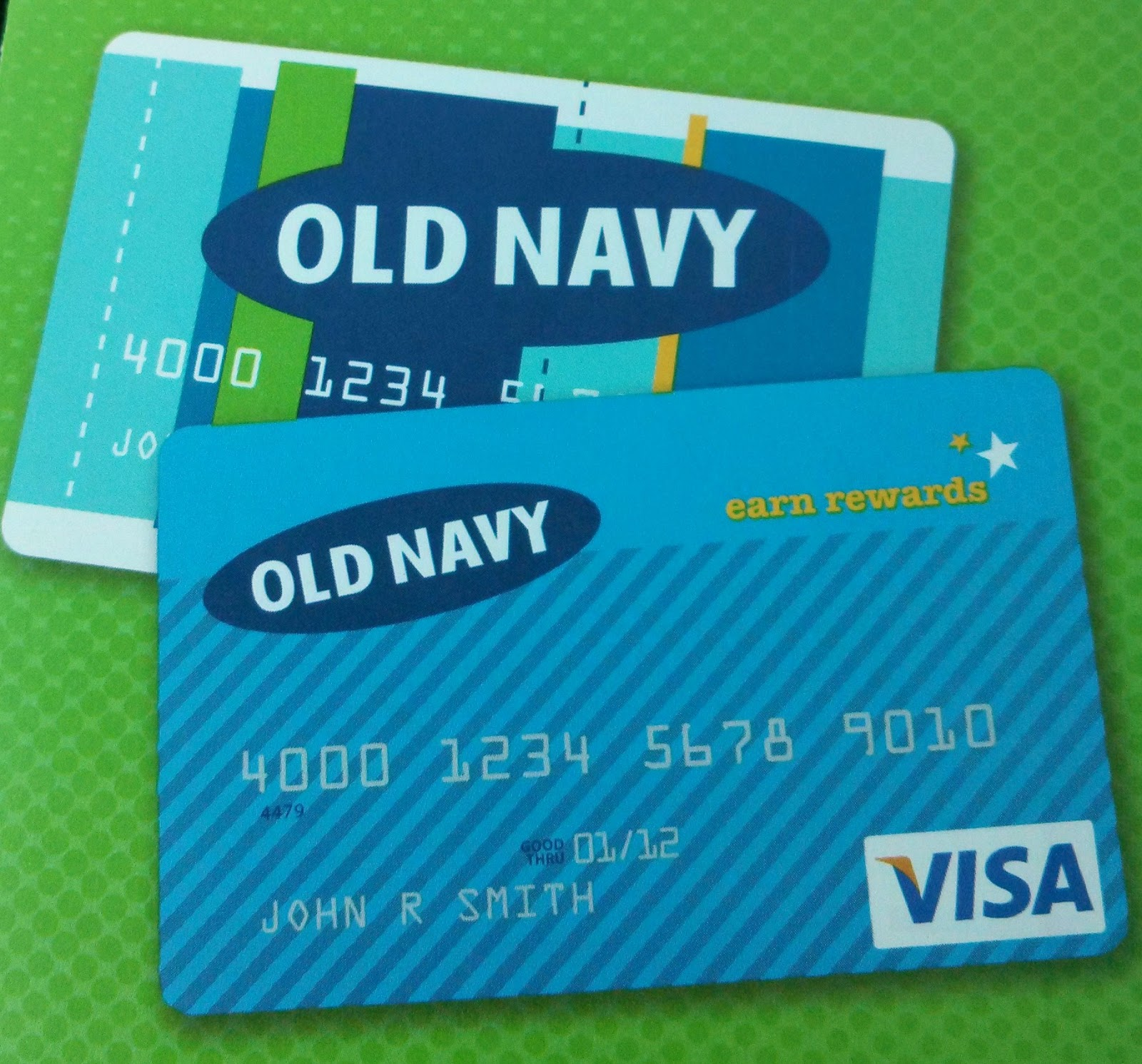 Old Navy Card and Old Navy Visa