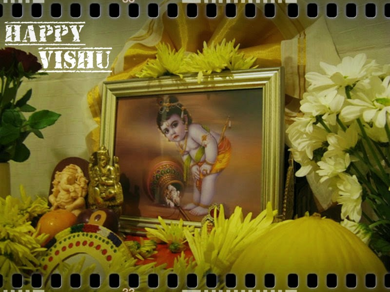 Hottest Vishu Wishes Photo's Images for Girlfriends - Festival Chaska