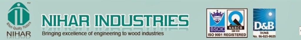 Nihar Industries : vacuum press, cold press, hot press, scissor lift