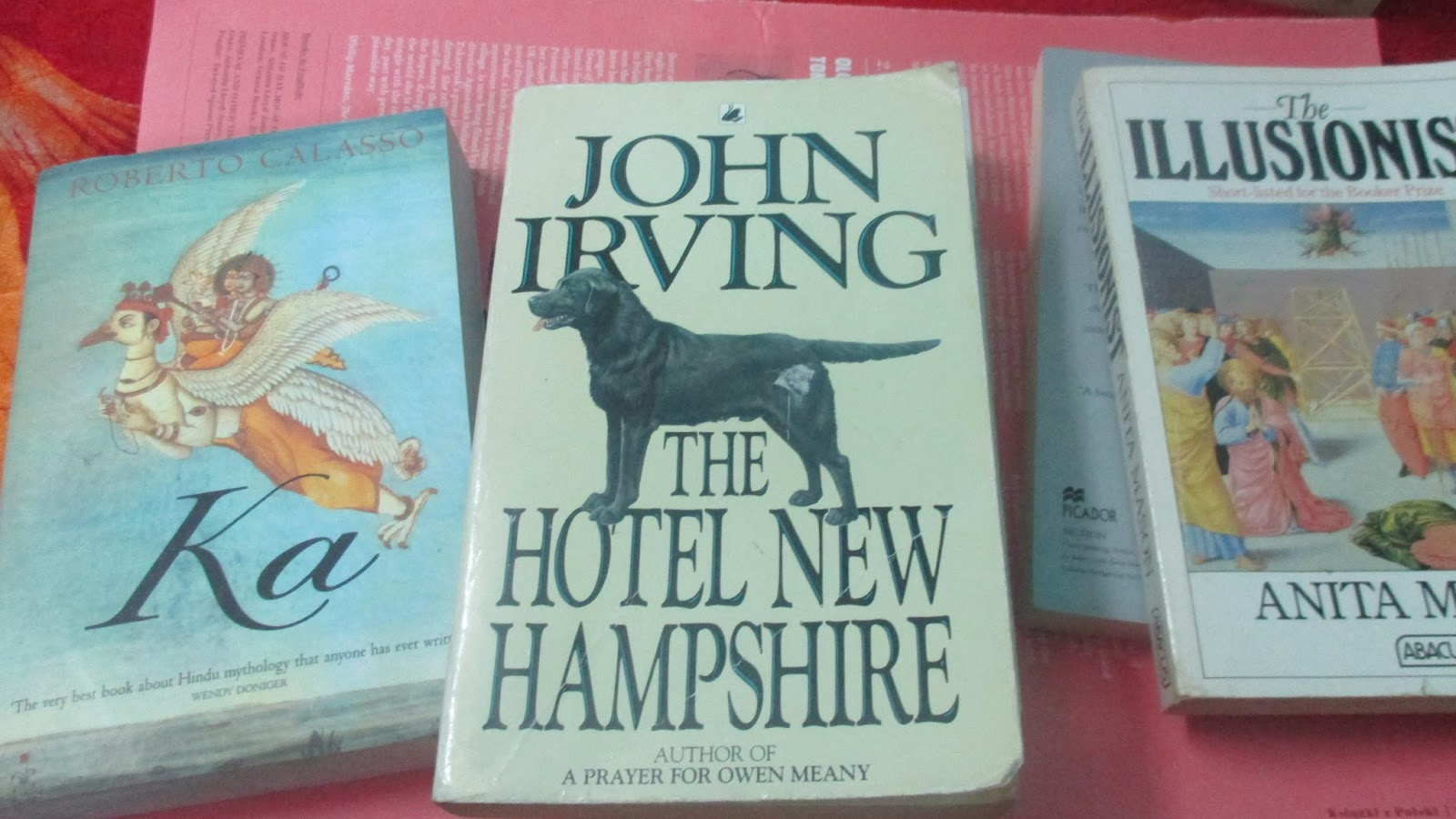 i write riot  perhaps john irving will now calm down and return to his typewriter he has in recent weeks told so many readers of so many magazines so much about