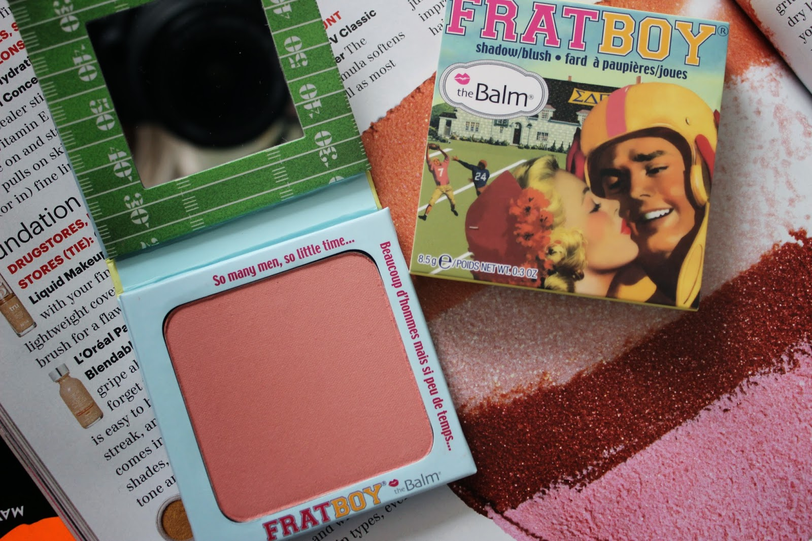 The Balm Frat Boy Blush L'amour Josie Review
