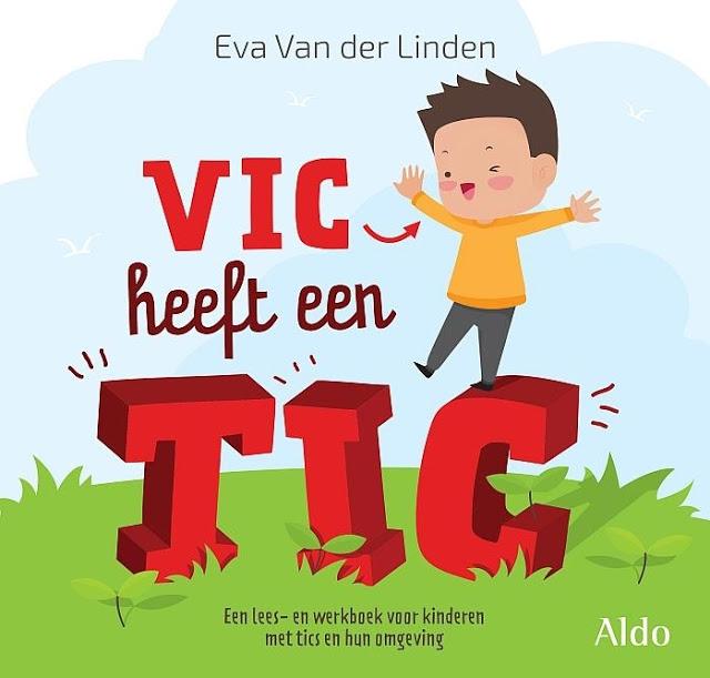 Mijn boek 'Vic heeft een tic'