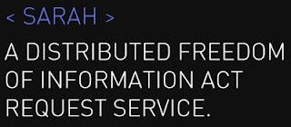 SARAH FOIA Request Service
