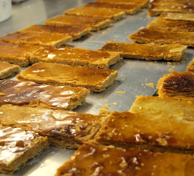 Pâte feuilletée caramélisée - Pâtisserie Sébastien Dégardin