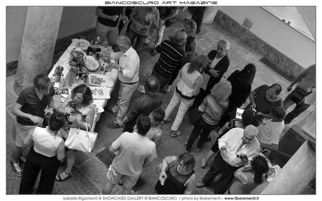 MOSTRA PERSONALE SHOWCASES GALLERY - VARESE