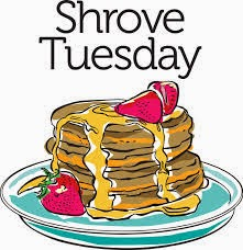 """SHROVE Tuesday"""