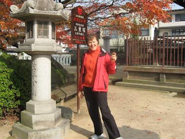 Carole in Takayama