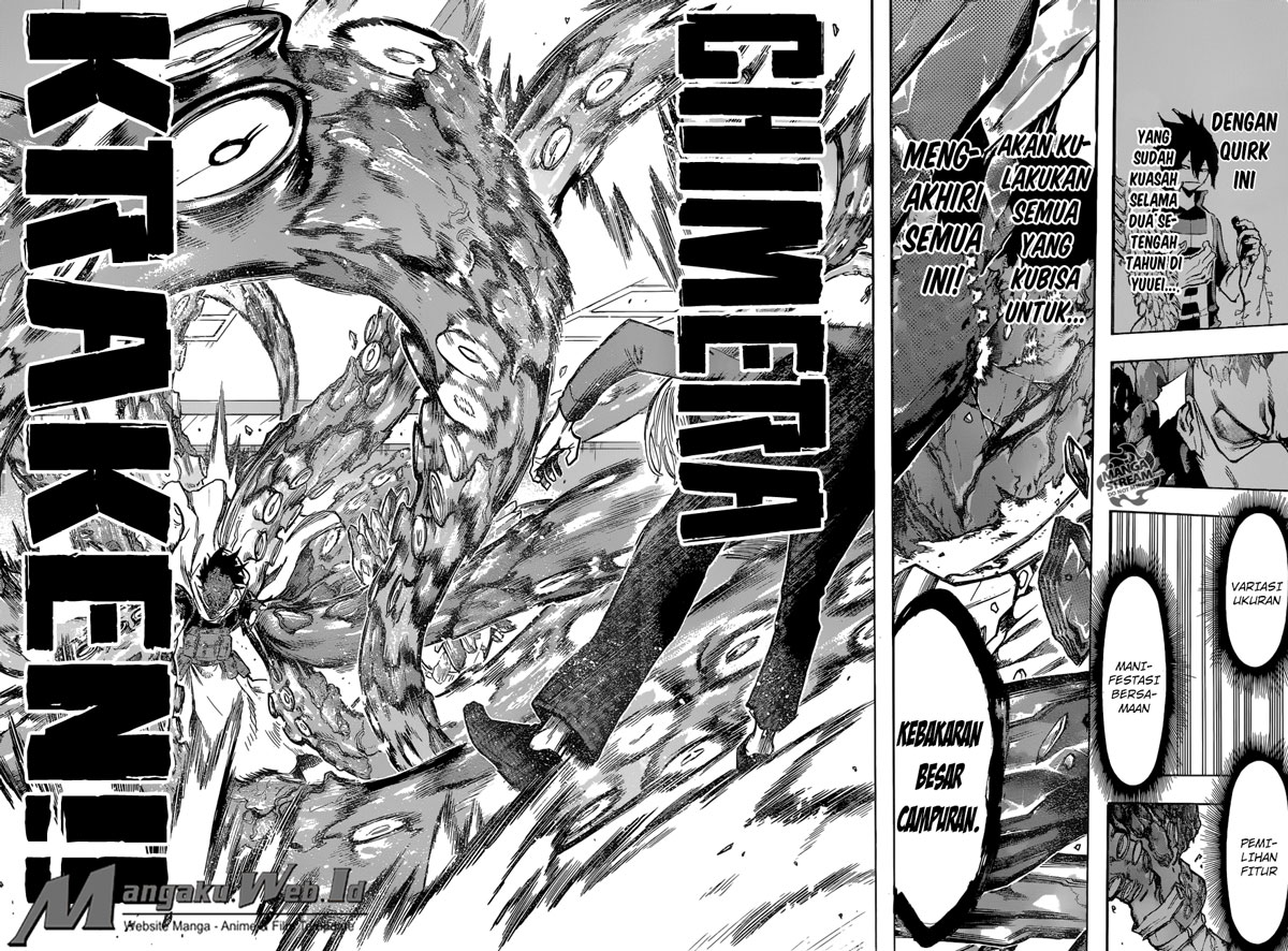 Boku no Hero Academia Chapter 141-3