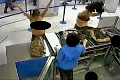 Stripping at Airport Security