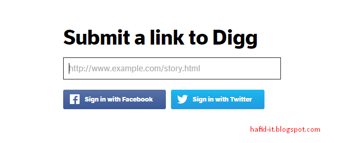 Submit link to dig
