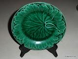 Wedgwood Majolica Green Plate