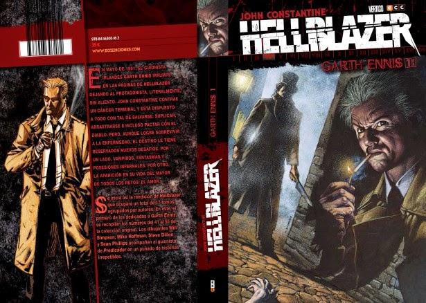 John Constantine, Hellblazer, ecc ediciones, constantine, vertigo, dc, el zorro con gafas