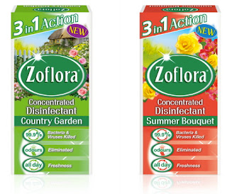 Zoflora Country Garden and Summer Bouquet Disinfectant