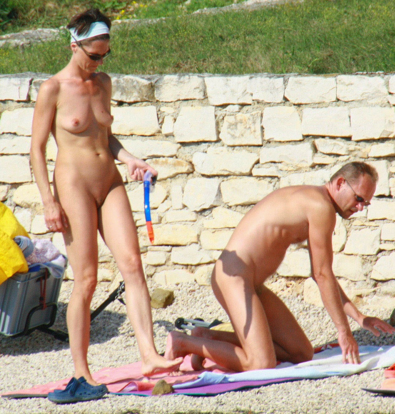 Think, Family young nudist camp