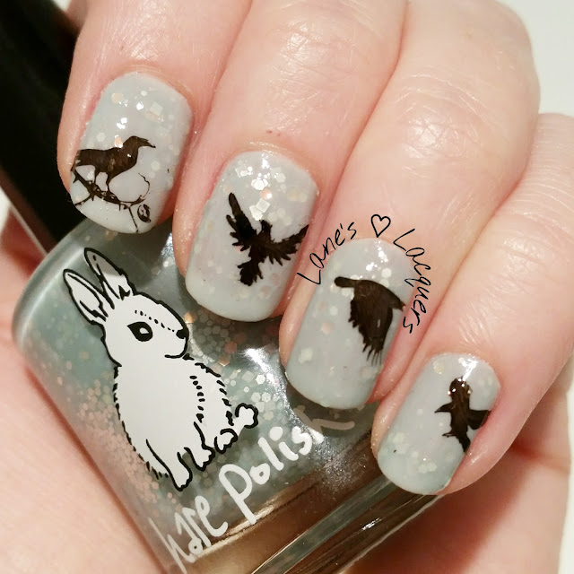 40-great-nail-art-ideas-things-that-fly-birds-crow-nail-art (2)