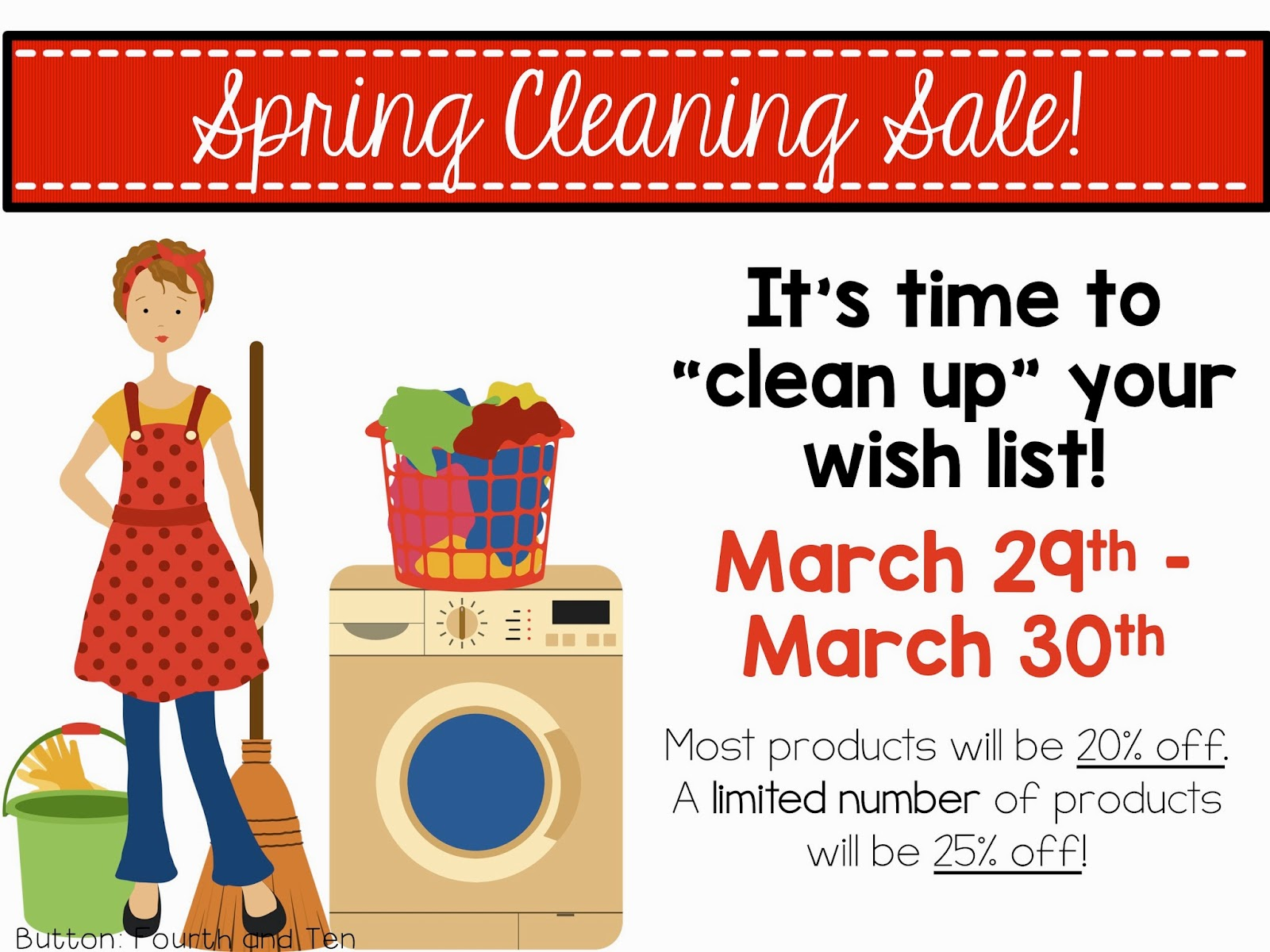 Fourth And Ten Spring Cleaning Sale I Cp Capsule Obat Jantung Herbal Im Just Popping By Today To Let You Know That Having A Little