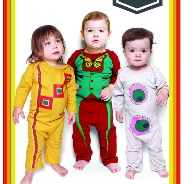 Où est Passe-Partout? Electrik kidz offre dès maintenant les pyjamas Passe-Partout en précommande!