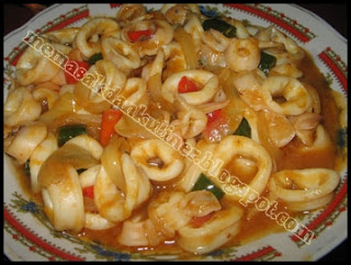 Resep Masakan | Cumi Asam Manis