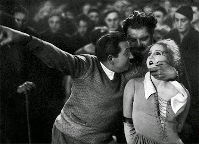Fritz Lang and Brigitte Helm