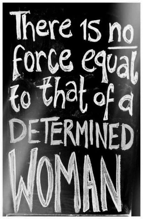 Determination Quotes For Women. QuotesGram