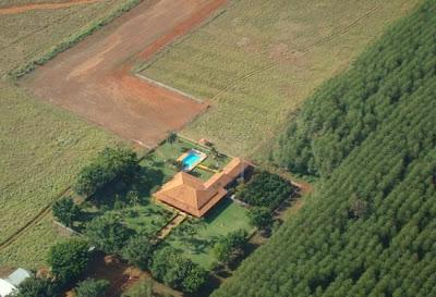 Fazenda Guará, de Zezé Perrella, localizada no município de Morada Nova de Minas