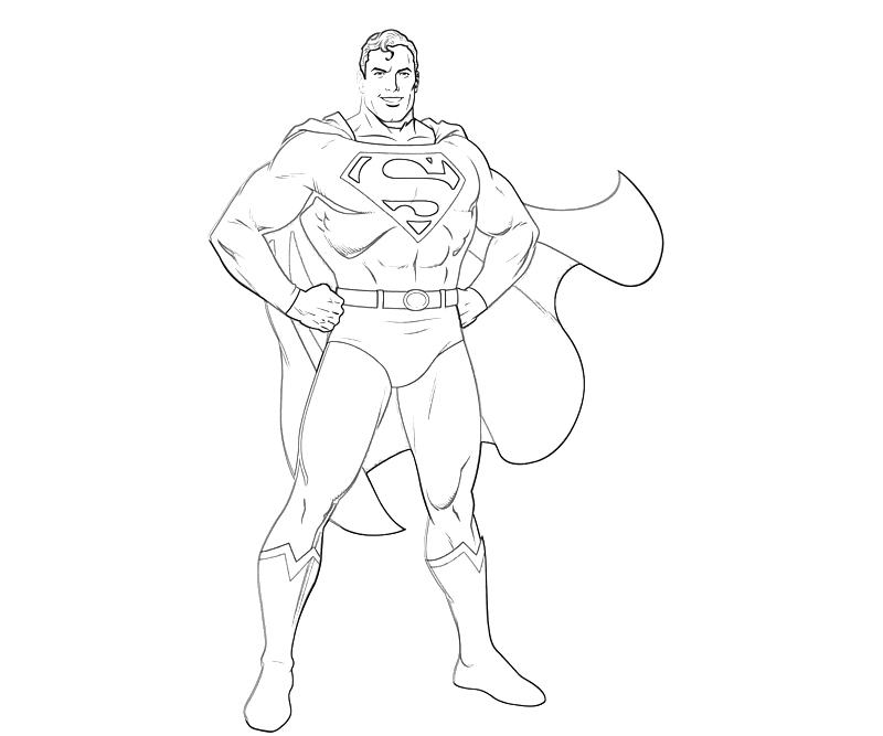 printable-injustice-gods-among-us-superman-smile-coloring-pages