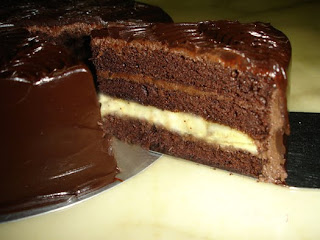 Delicious Chocolate Banana Cake