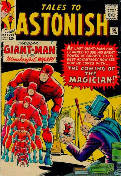 Tales to Astonish #56, Giant-Man vs the Magician
