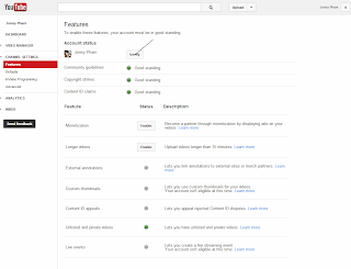 The next step activation Tab Monetization Youtube. You enter your phone number to activate (Verify) your channel entirely.
