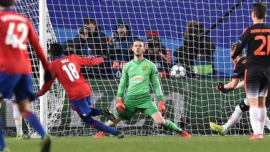 CSKA 1 x 1 Manchester United - Champions League 2015/16
