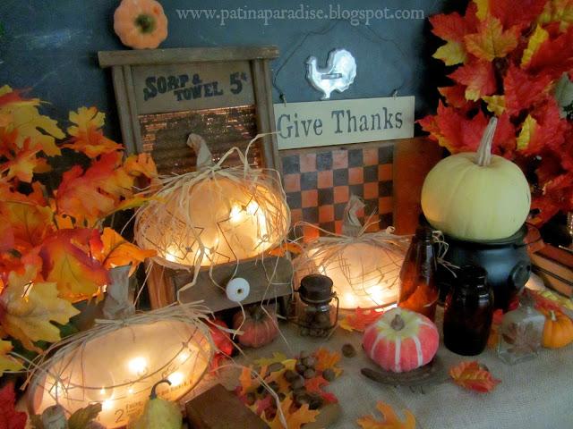 Fall Décor Ideas: DIY Junkin Pumpkin