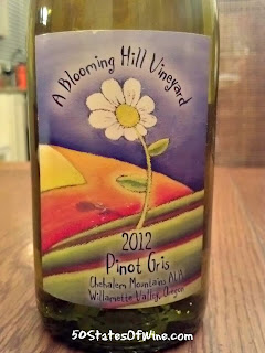 A Blooming Hill Vineyard Pinot Gris