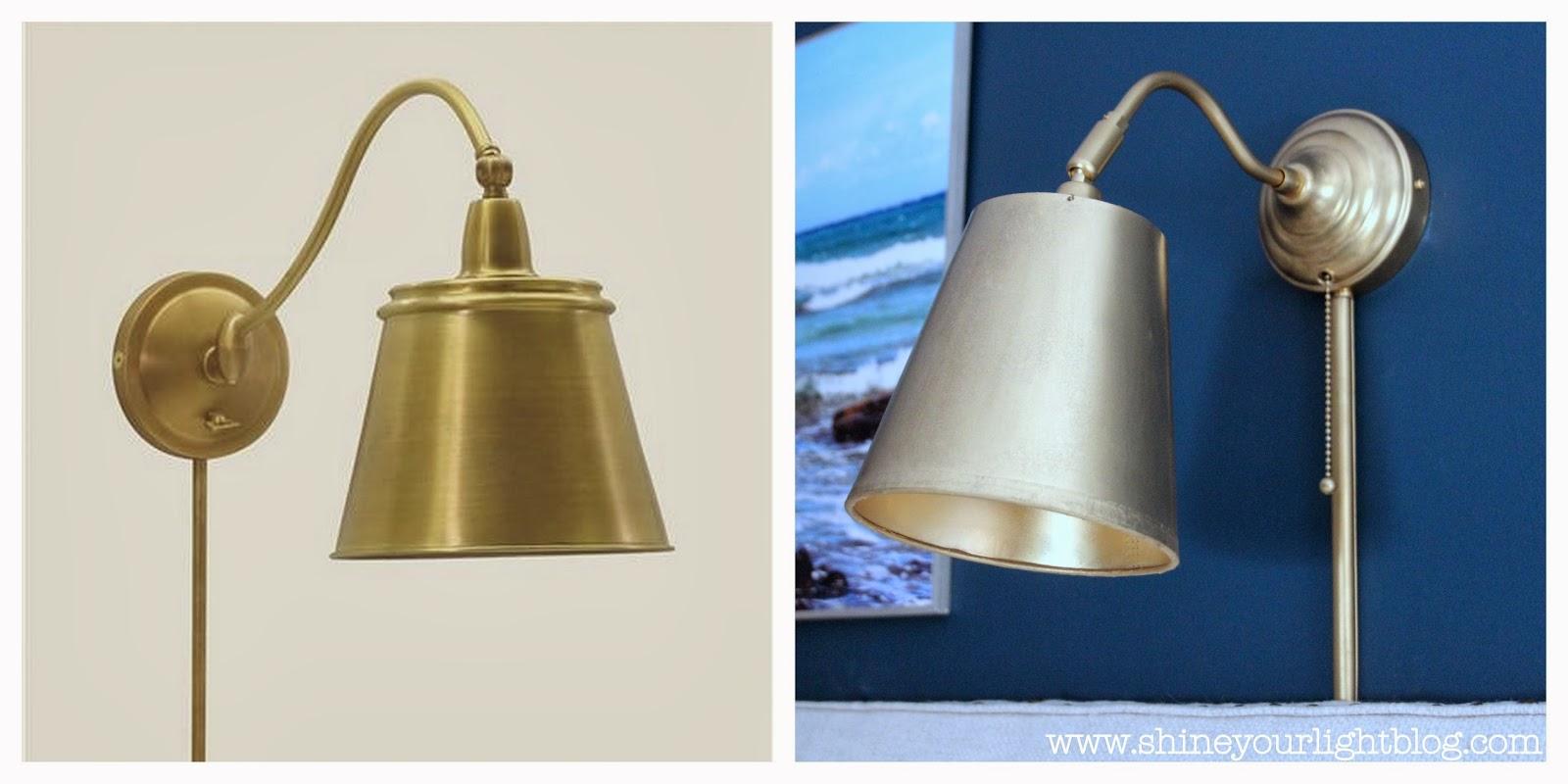 shine your light ikea wall light hack. Black Bedroom Furniture Sets. Home Design Ideas