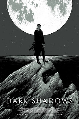 Mondo - Dark Shadows Screen Print by Ghostco