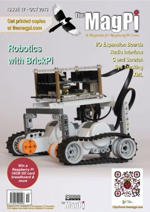 The MagPi issue 17 (October 2013)
