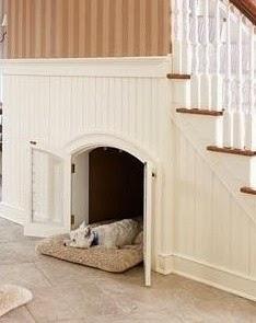 Aprovechar hueco de escalera, mascotas.