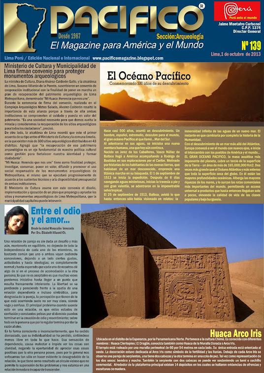 Revista Pacífico Nº 139 Arqueología