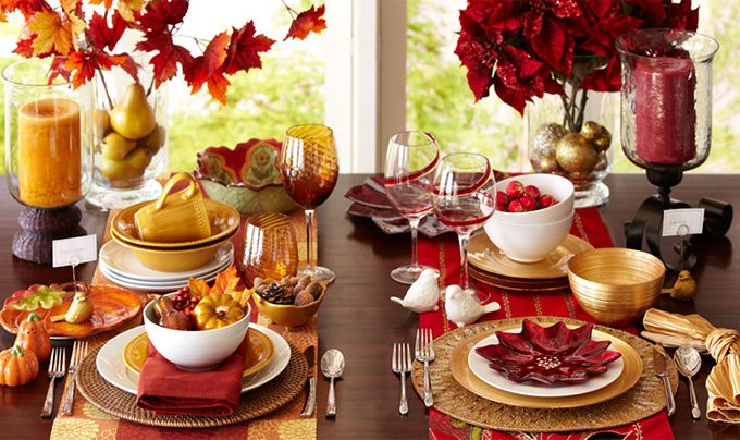 Table setting ideas from Pier 1 – Act Two Home Staging