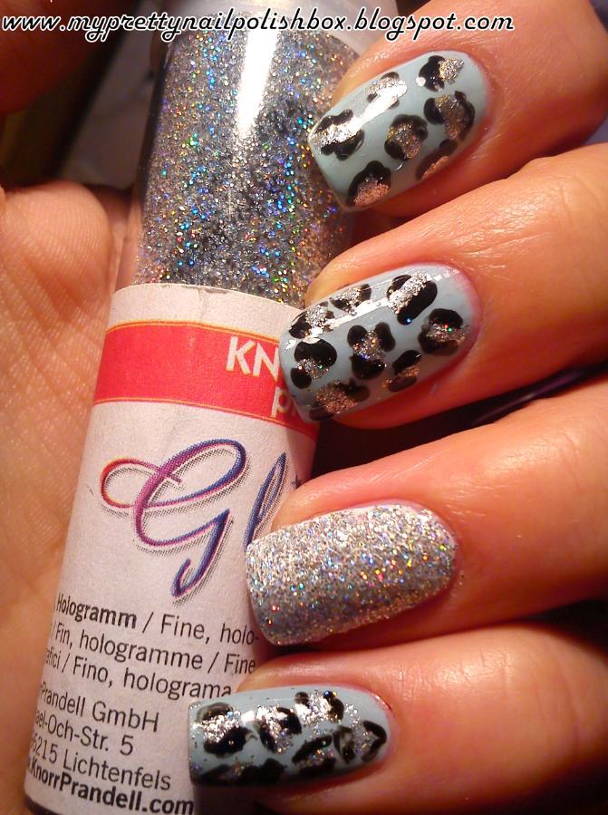 My Pretty Nail Polish Box: NOTW: recycled Leopard