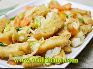 Resep Masakan dan Cara Membuat Cap Jay Goreng