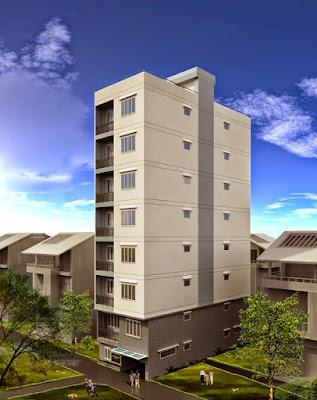 Tòa chung cư mini 10 tầng thuộc khu vực quận Nam Từ Liêm, HN