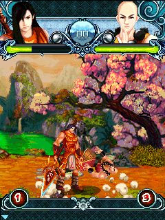 Screenshots of the Unparalleled fighting spirit Java Game for java mobile, phone.