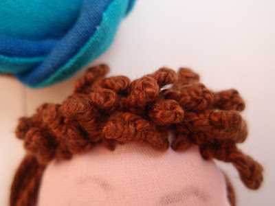 Drizzle stitch example