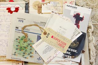 Travelbook с большим количеством фотографий. Путешествие в Европу. Заскрапленные впечатления.
