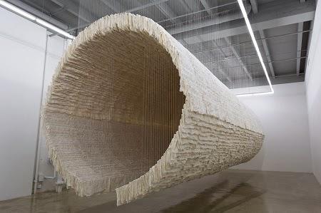 Instalacion en Papel, Responsabilidad Medioambiental y Arte