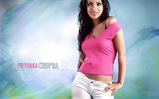Priyanka chopra in pink color t-shirt hot imgs