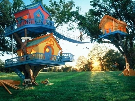 A Trio of Tree Houses