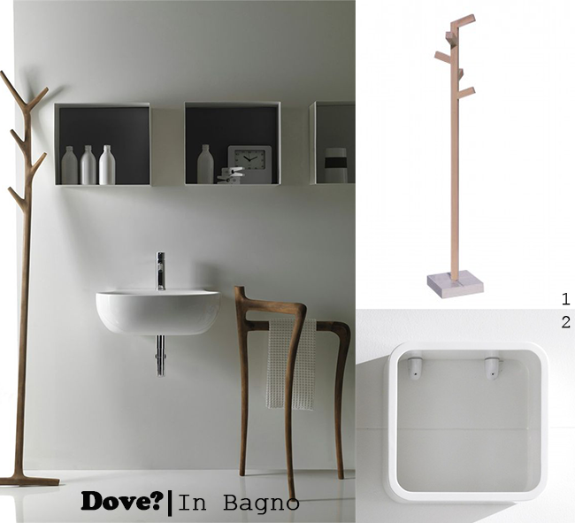 design|tutto in ordine | m y h - Attaccapanni Da Bagno